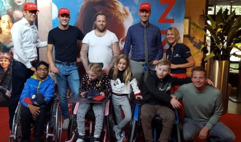 RT Westland organiseerde voor tweede maal eem filmmiddag voor kinderen met zeldzame aandoening.