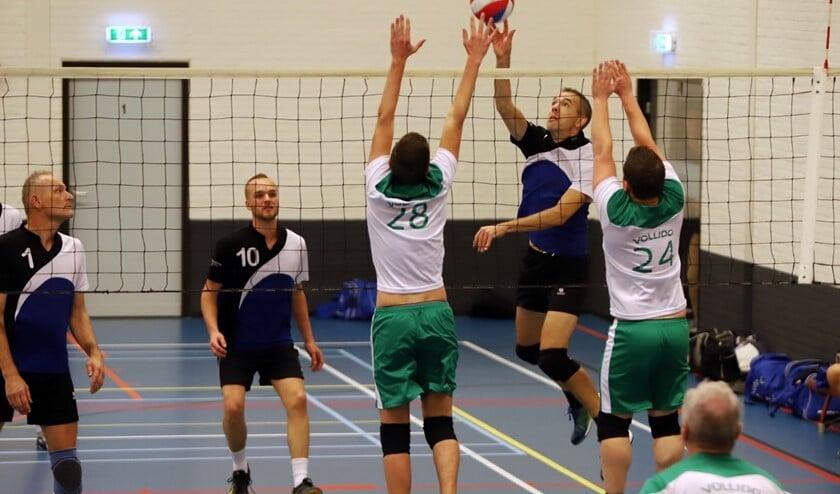 De volleyballers van Bernisse waren zaterdag met 4-0 te sterk voor Vollido.