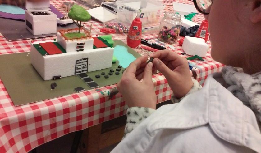 Kinderen kunnen op 19 oktober in het Westlands Museum hun eigen droomhuis ontwerpen.