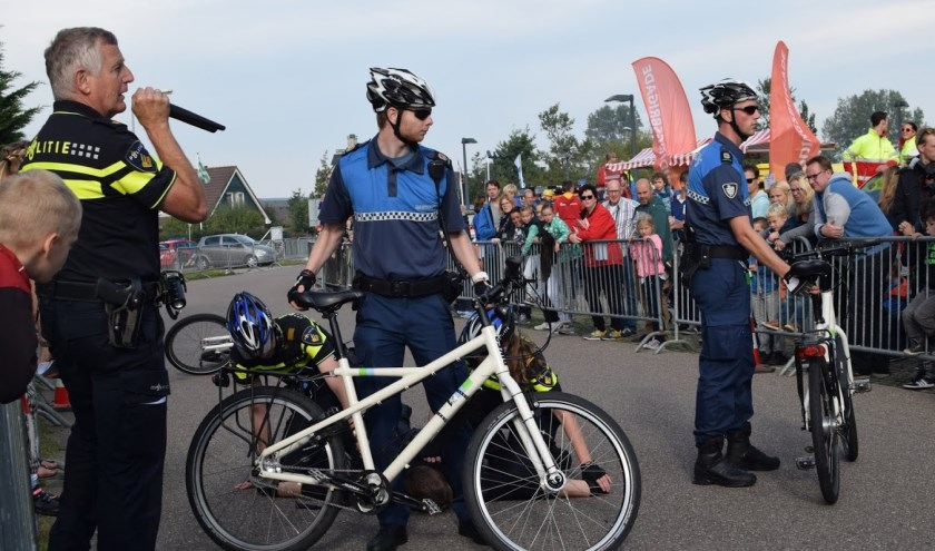 Politiebikers geven komende zaterdag een demonstratie tijdens de Veiligheidsdag 2019.