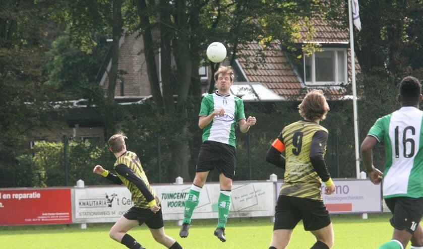 Alexander Wagner scoorde voor OVV op bezoek bij koploper KethelSpaland. (Archieffoto: Wil van Balen).