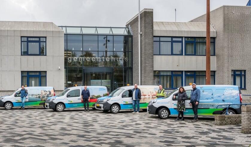Nieuwe elektrische autos voor de Gemeente Goeree-Overflakkee