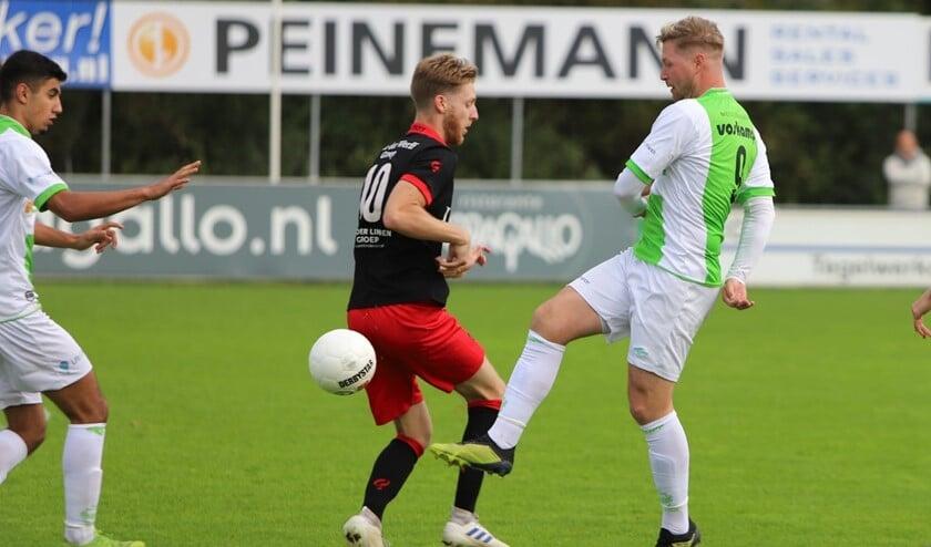 Spijkenisse kwam er zaterdag niet aan te pas in het duel met ARC, dat met 0-3 won.