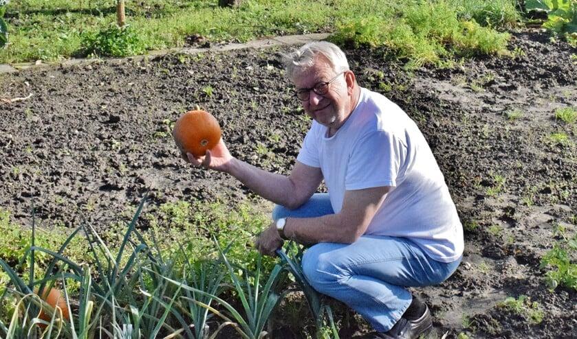 Tuinieren is een van zijn hobby's
