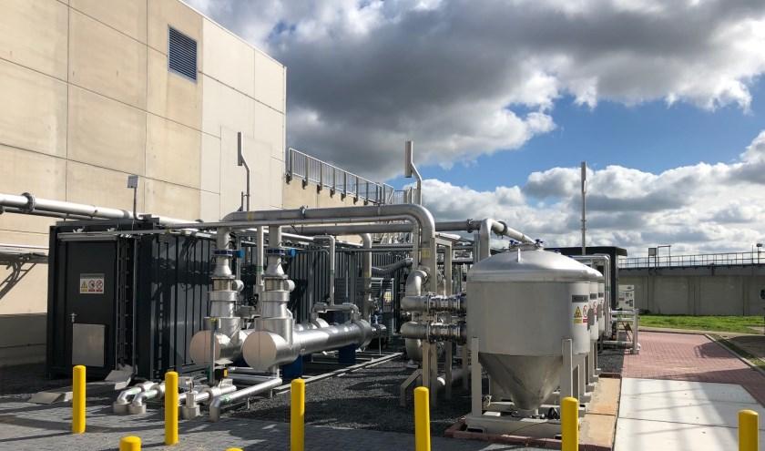 Het groene gas wordt geleverd aan het netwerk van Westland Infra.