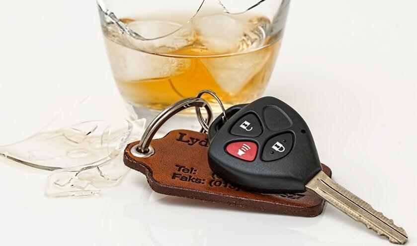Drank en autorijden gaat niet samen.