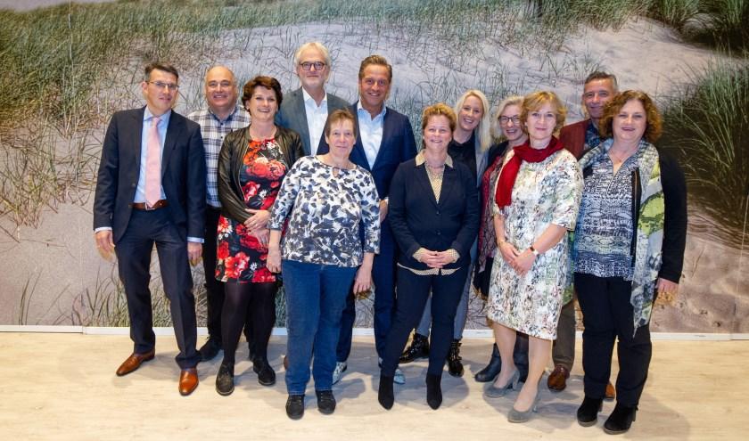 Minister De Jonge bezocht maandag het Westerhonk.