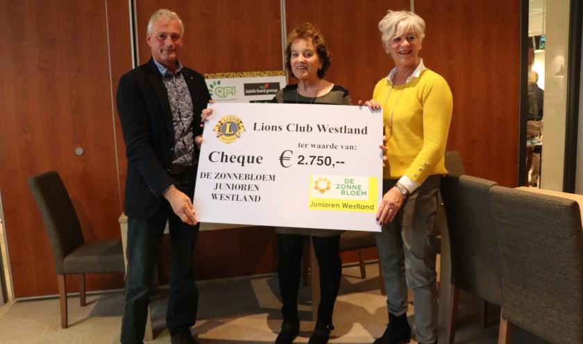 Dankzij een actie van Lions Club Westland kunnen gasten van Zonnebloem Junioren genieten van een fleurig dagje uit.