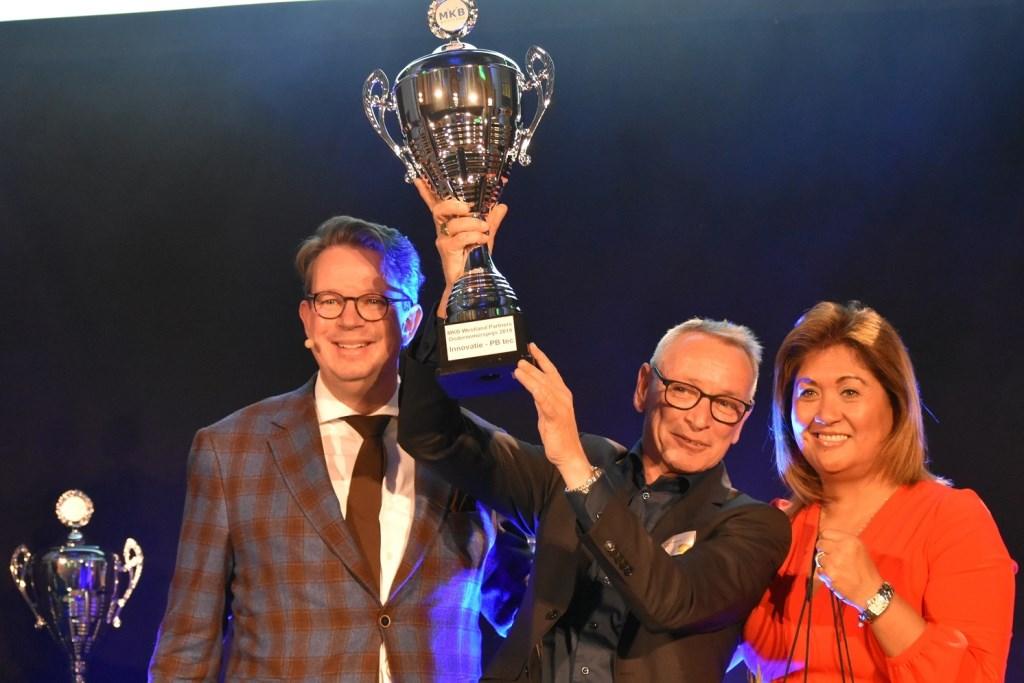 PB tec won de 'Innovatieprijs'.  © Groot-Westland.nl