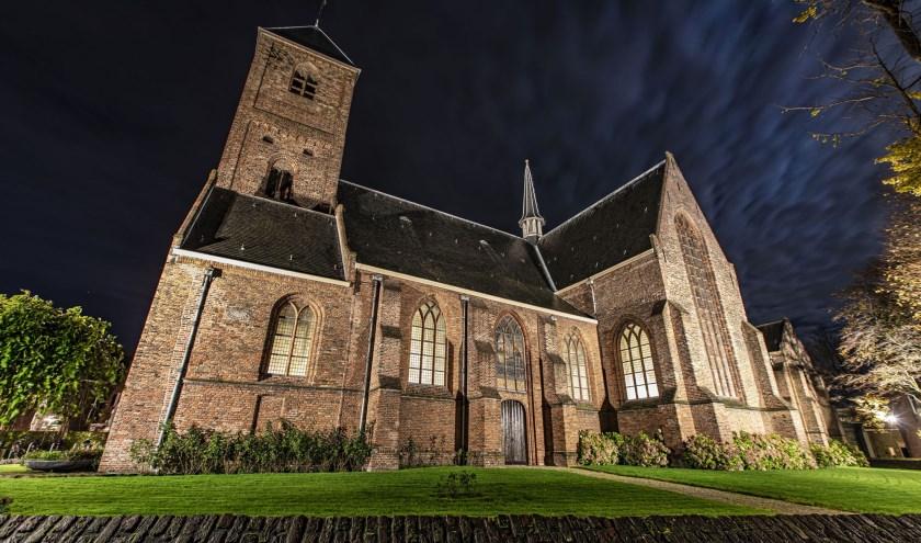 De Oude Kerk in Naaldwijk.