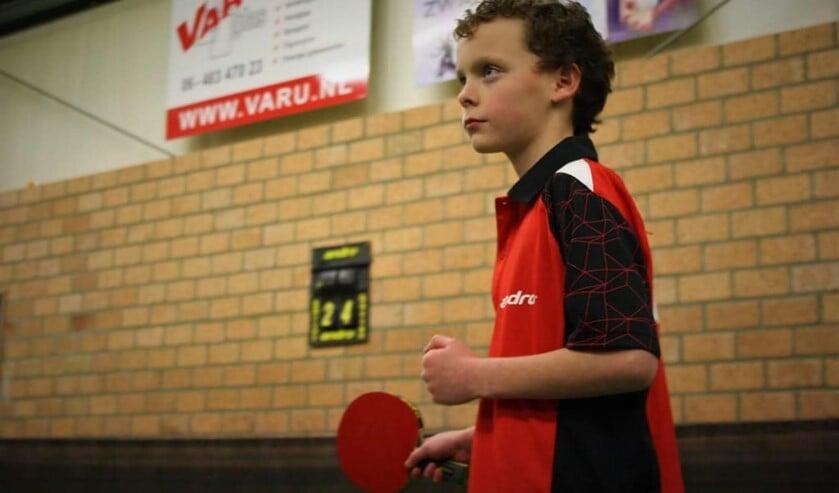 Lars Goeree was vorige week na Tom van Klink alweer de tweede speler van het jeugdteam van De Sprint die een partij wist te winnen.