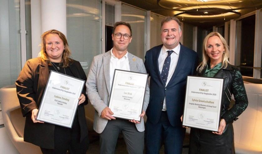 De kanshebbers op de OndernemersPrijs Haaglanden 2020.