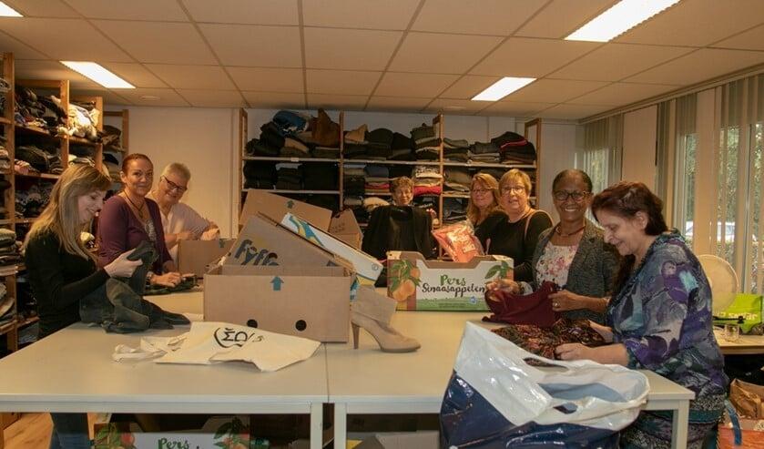 De winkel wordt gerund door bijna twintig vrijwilligers en dat is natuurlijk ook bijzonder te noemen.