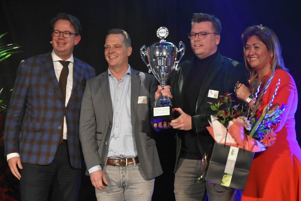 Weverling Groenproviders won de 'Duurzaamheidsprijs'.  © Groot-Westland.nl