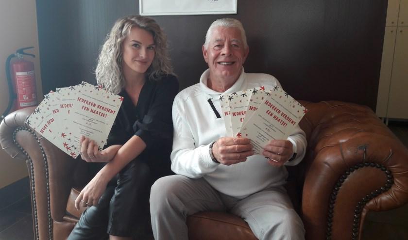 Valerie wordt bijgestaan door Fred Kuil, die al veel evenementen voor ouderen heeft georganiseerd