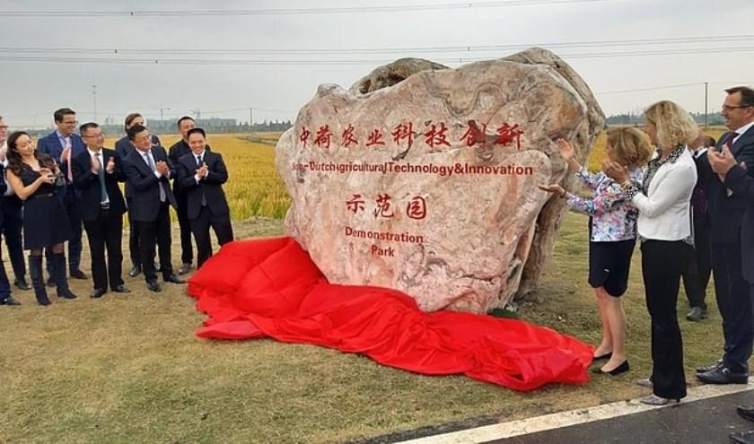 Karin Zwinkels bezocht tijdens een handelsmissie naar China als loco-burgemeester de regio's Xi'an, Yangling en Jiashan.