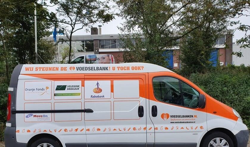 Er is nog ruimte over voor adverteerders op de bus van de Voedselbank!