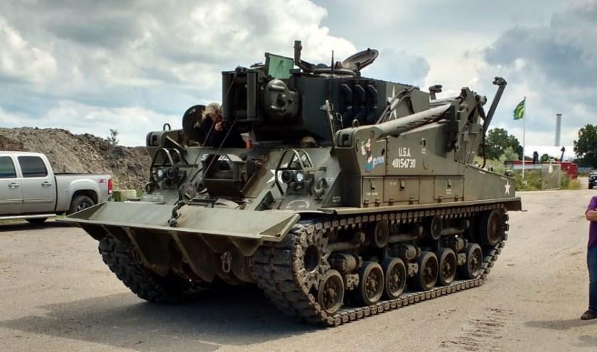 Op 5 mei wordt een toertocht met historische legervoertuigen georganiseerd.