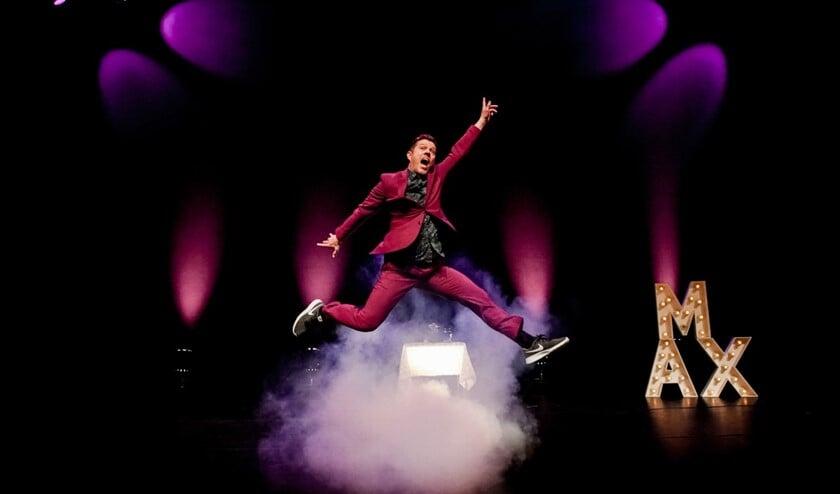 Max van den Burg is  weer terug. Dynamisch, fantasievol en muzikaal, maar bovenal hilarisch.  (Foto: Jaap Reedijk)