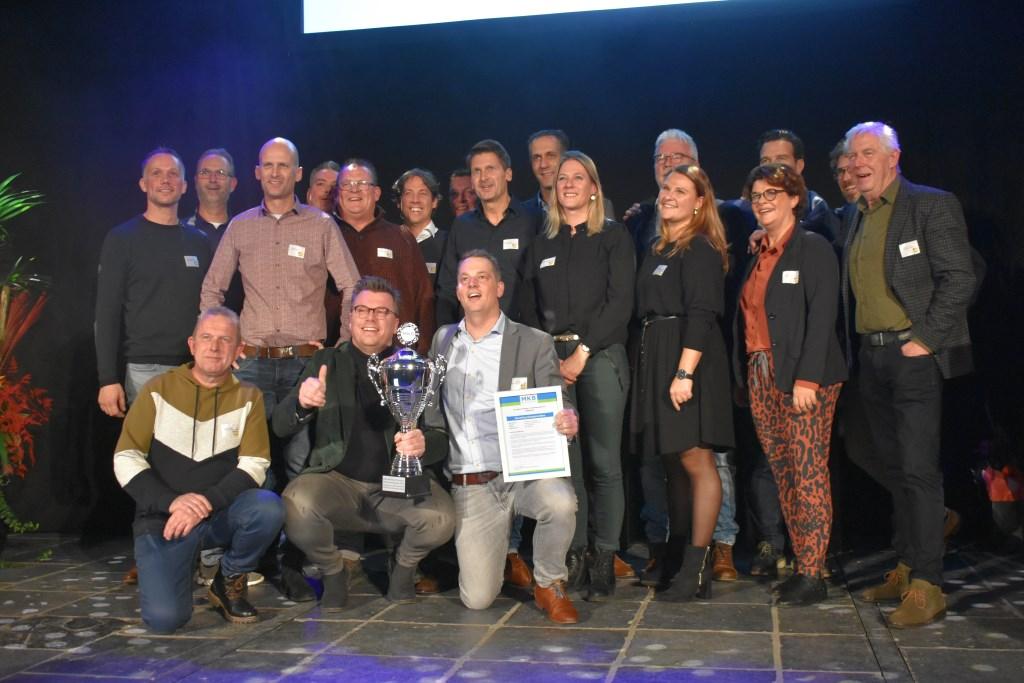 Het team van Weverling Groenproviders.   © Groot-Westland.nl