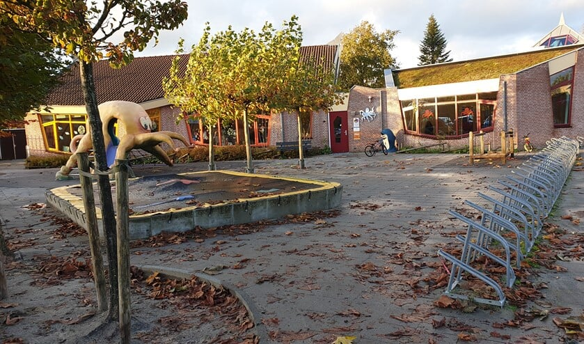 OBS De Inktvis is een van de scholen van SOPOGO waar gestaakt werd. (Foto: Nick Ehbel)