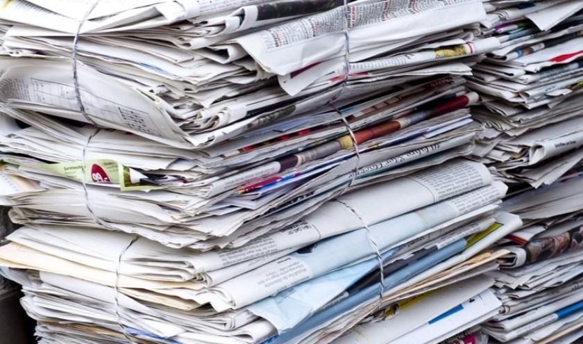 Verenigingen, scholen en kerken moeten noodgedwongen stoppen met het ophalen van oud papier in Westland.