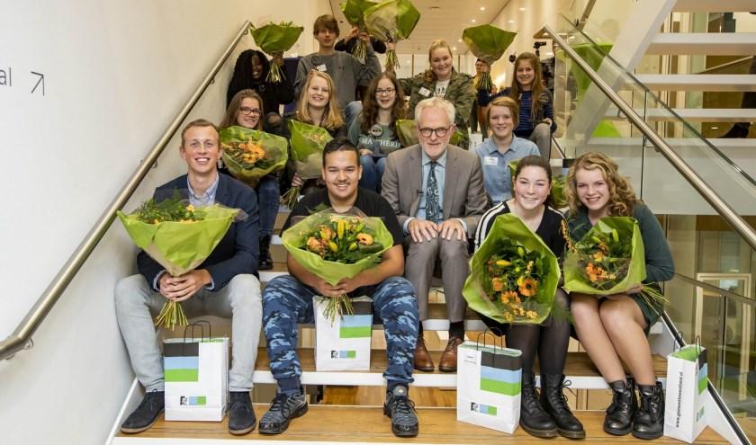 De genomineerden van De Uitblinker 2018.