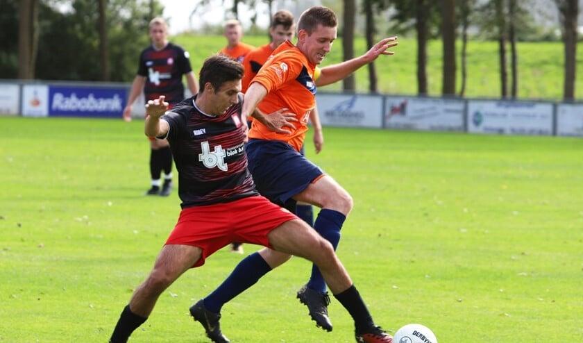 Simonshaven kon het zaterdag na rust niet meer bolwerken en verloor het duel met VV Pernis met 1-3.