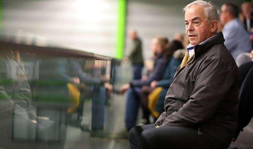 Voorzitter Ben Sebel zag de mannen van HVOS nipt verliezen van Hercules en de vrouwen winnen van Velo. Foto Peter de Jong.