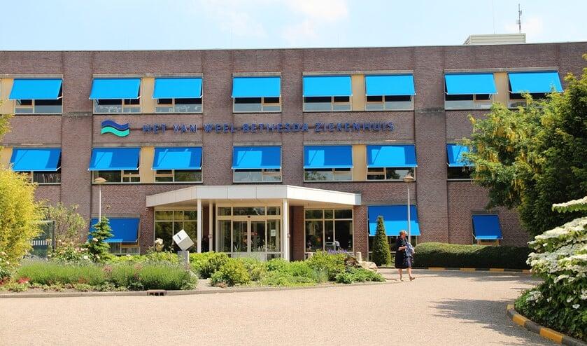 <p>Het Van Weel Bethesda ziekenhuis in Dirksland</p>