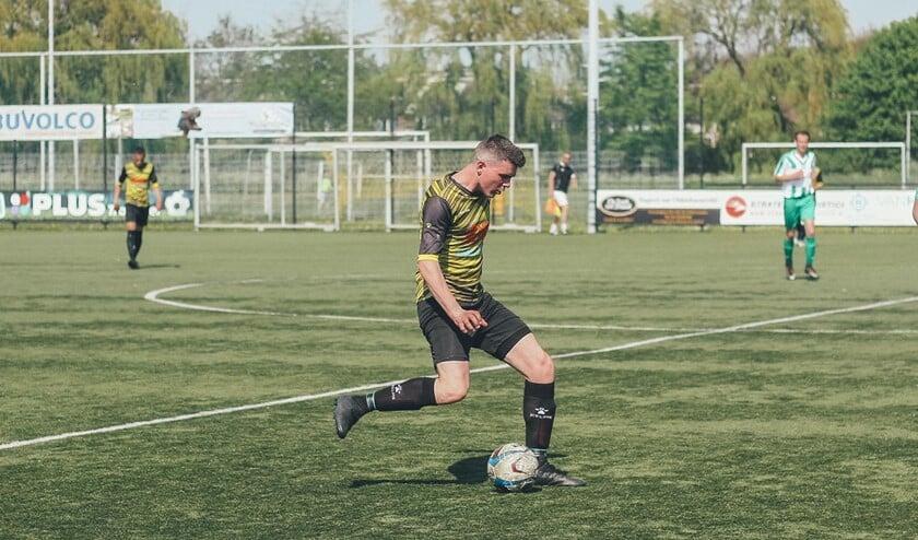 Bram Scheringa wil tegen DVV '09 eerst resultaat zien, pas juichen als de beer geschoten is. Foto: Anastasia Schnoks