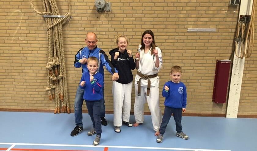 De deelnemers aan het toernooi in Zoetermeer.