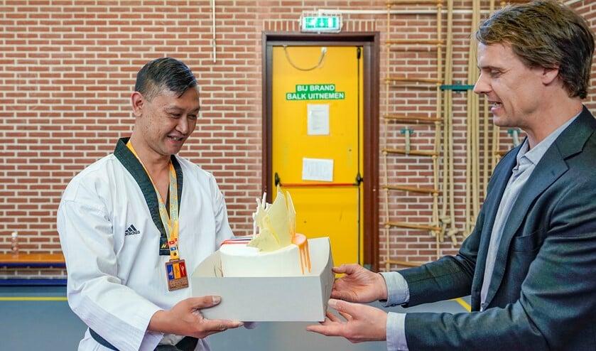 De verrassing werd zeer op prijs gesteld. Foto: Foto-OK.nl