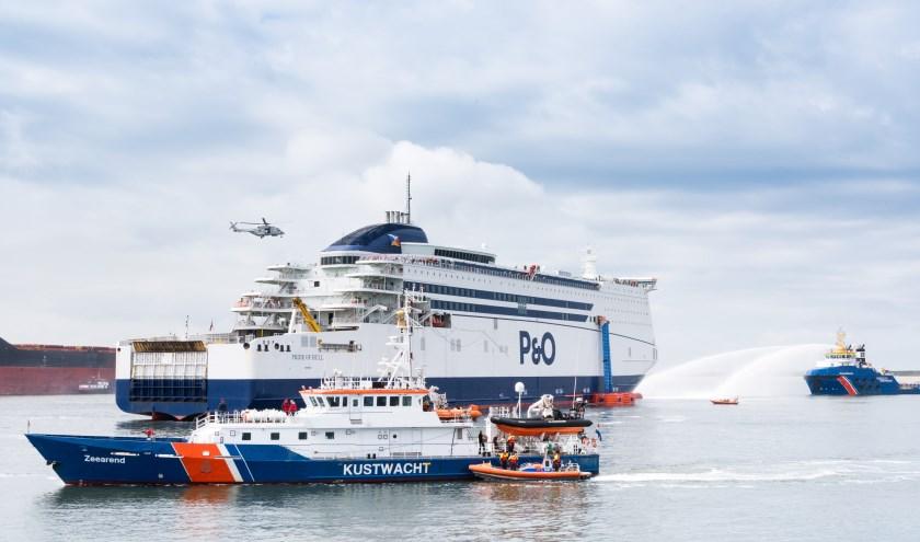 Zaterdag vond de jaarlijkse LIVEX-oefening plaats: een massa-evacuatie op zee.