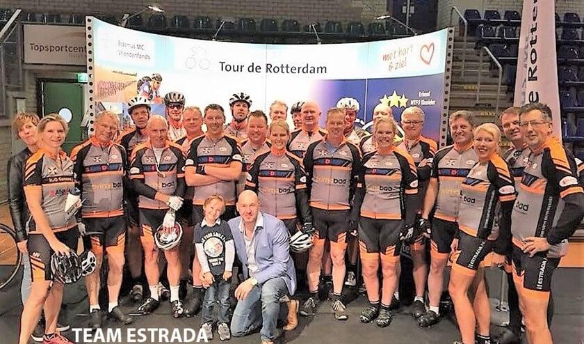 Estrada is oprecht trots dat zij dit jaar voor de derde keer op rij met het team aan de start staan bij de Tour de Rotterdam!