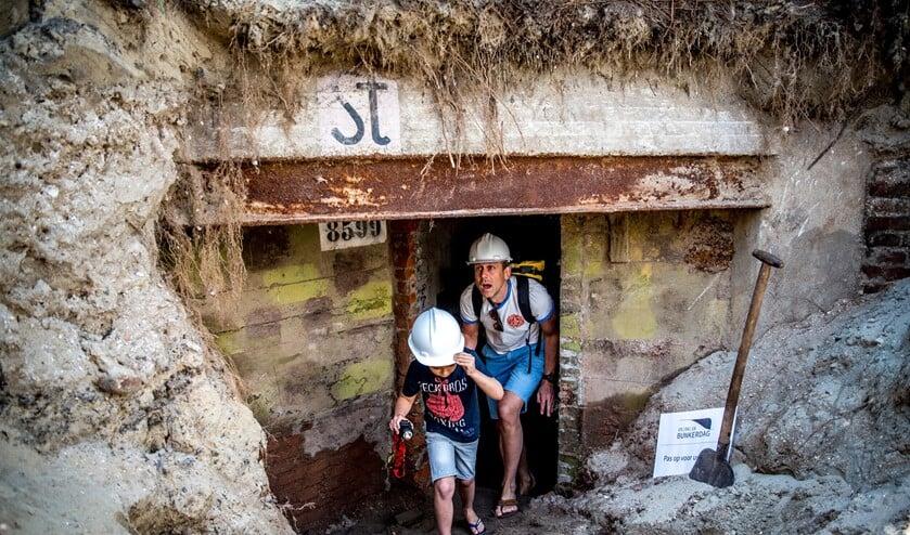 In Ouddorp is maar liefst een heel bunkerdorp van 15 bunkers te bezichtigen.