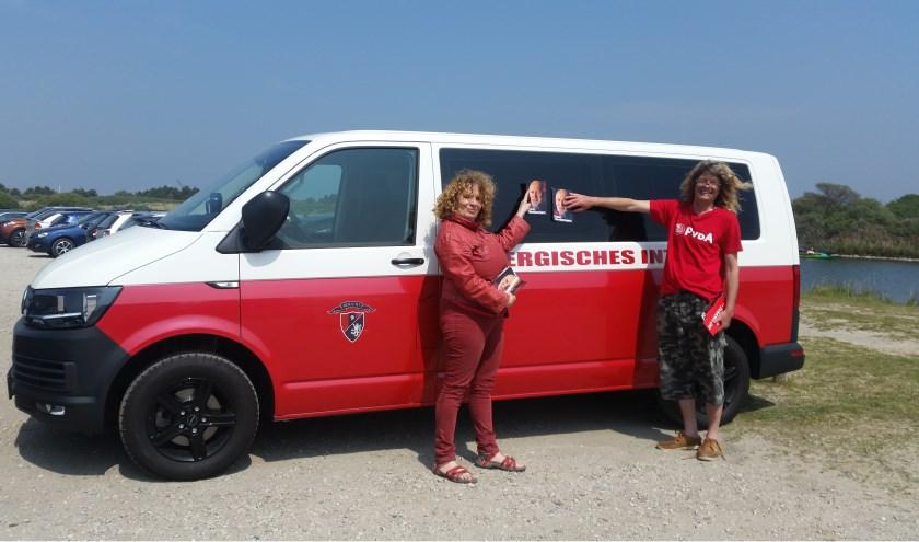 Zaterdag 18 mei trok een campagneteam van PvdA GO naar de stranden van Brouwersdam en Ouddorp met een internationaal verhaal.
