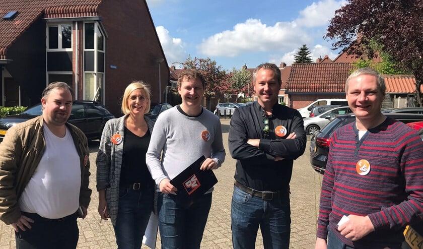 De VVD bezocht deze keer De Hoek.