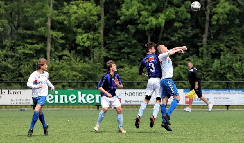 SC Botlek bewees zich op de ranglijst een slechte dienst, door met 2-3 van Vierpolders te verliezen.