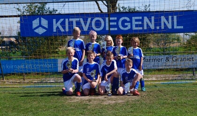 De winnaars van de Voetbalschool van de periode februari t/m mei.