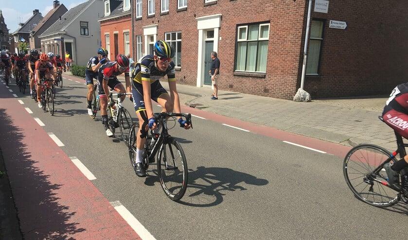 Ronnie van Sintmaartensdijk besloot een goed NK voor junioren voor zijn ploeg WWV met een dertiende plaats. Foto Dan Rolandus