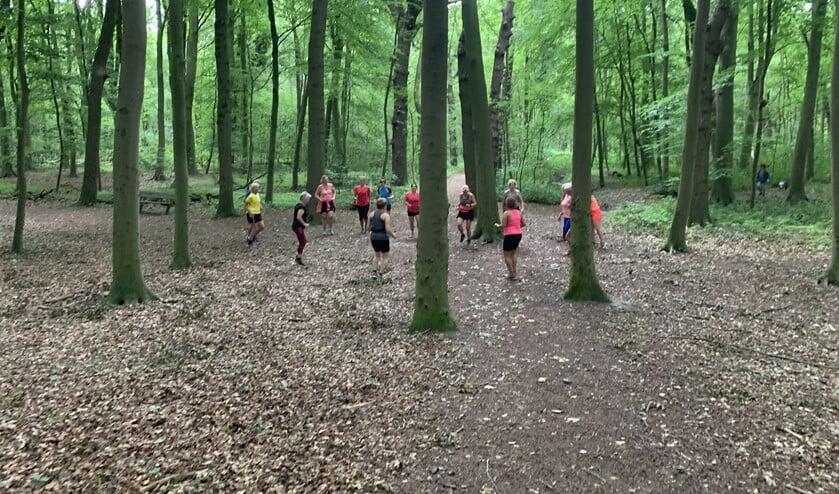 Lekker trainen in bos en duinen