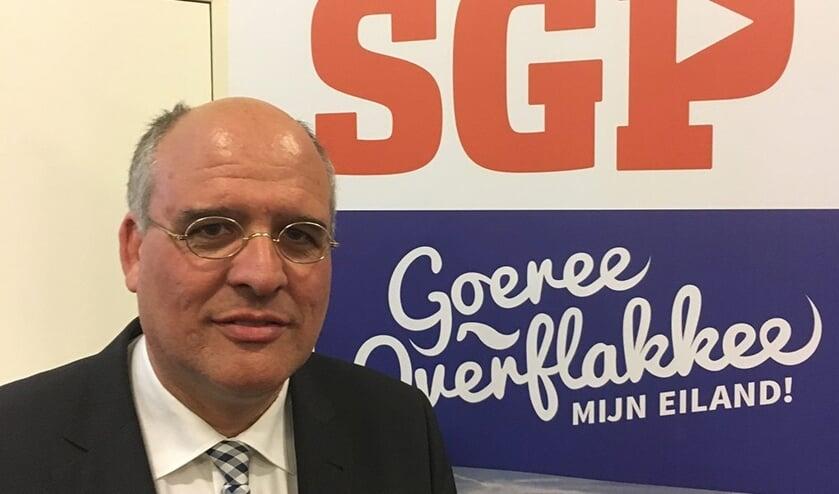 SGP-fractievoorzitter Kees van Dam neemtop 12 september afscheid van de politiek op Goeree-Overflakkee..