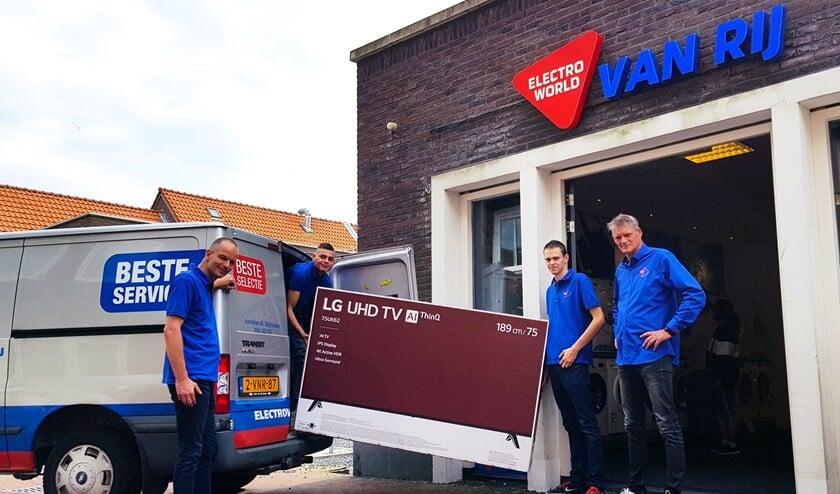 Service staat voorop bij Van Rij. Foto: Foto-OK.nl