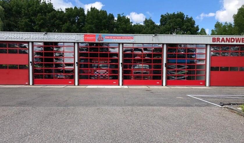 Nieuwe deuren sieren de brandweerkazerne