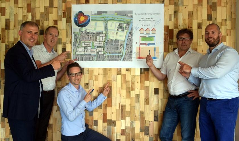 De beoogde bron voor het warmtenet in de Liermolen is aardwarmte.