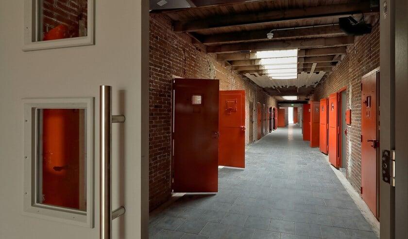 Cellengang in het Oranjehotel. Foto: J. van de Oever.
