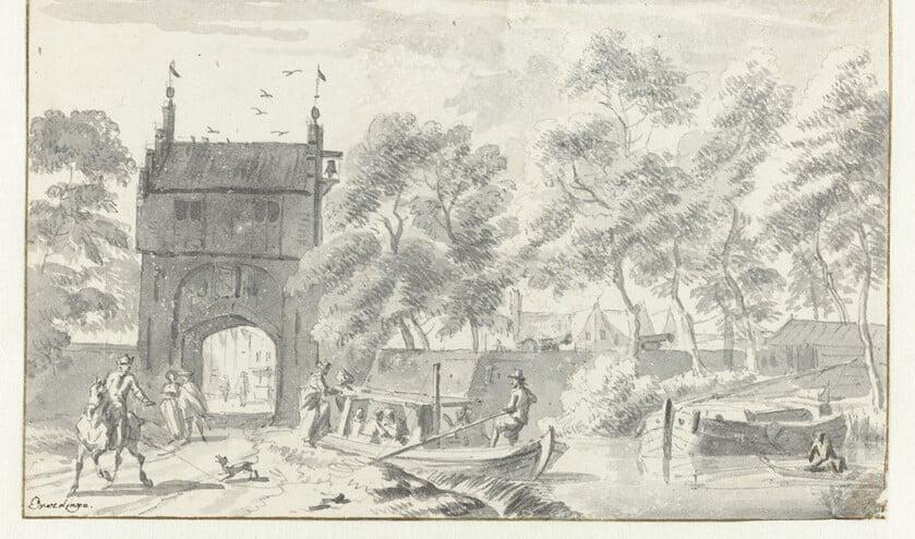 De trekschuit was één van de manier van reizen. Foto: Collectie Rijksmuseum