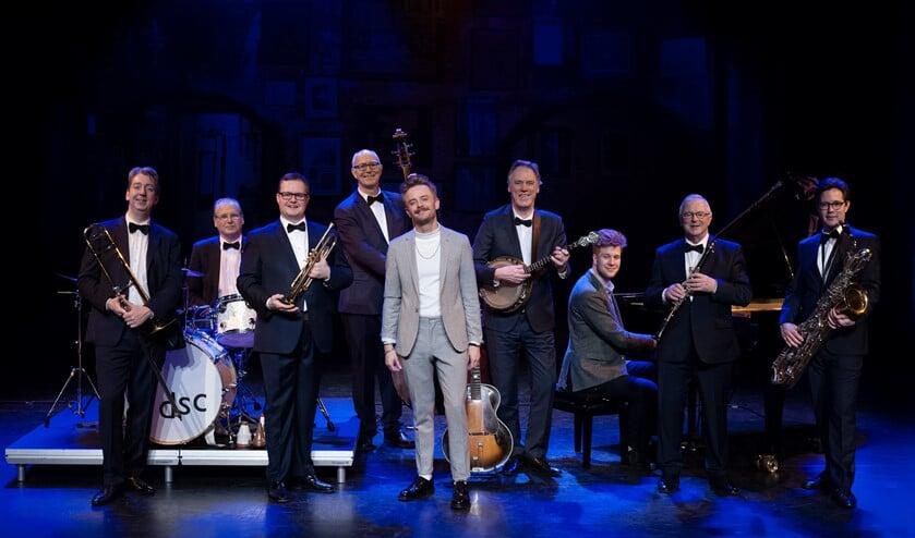 De Dutch Swing College Band met Wouter Hamel (Foto: Bas Meijer)