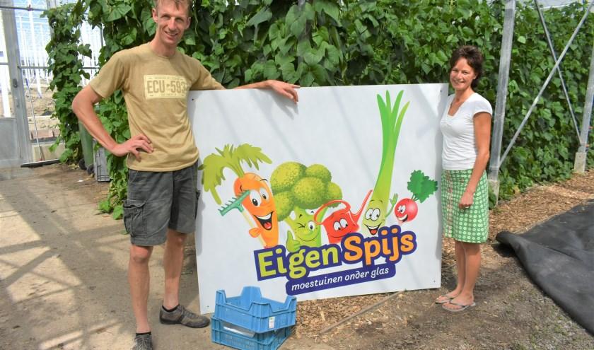 Het plezier van moestuinieren, dat gunnen Ben en Agnes van den Berg iedereen.